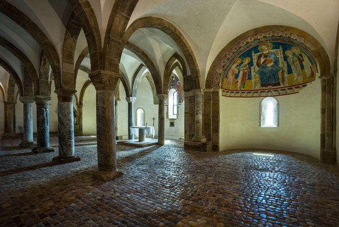 San Giovanni in Venere, la cripta