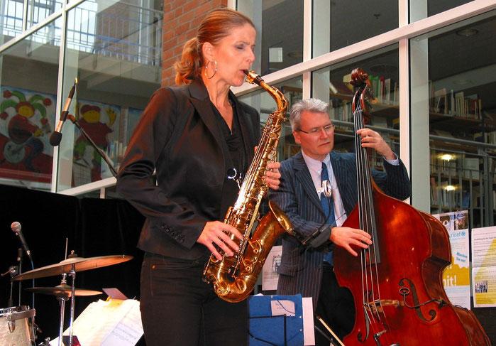Karolina Strassmayer, John Goldsby, Foyer Haus d. Stadt, 29.7.11