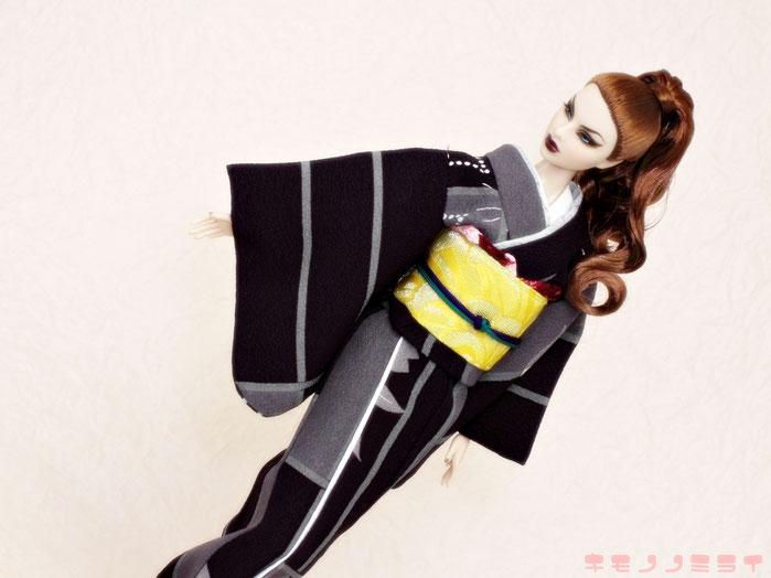 instagram KIMONONoMIRAI,人形 着物,ドール 和服