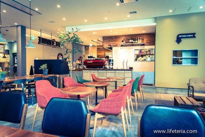 LifeTeria THE 3RD CAFE ザ サード カフェ 品川シーズンテラス店