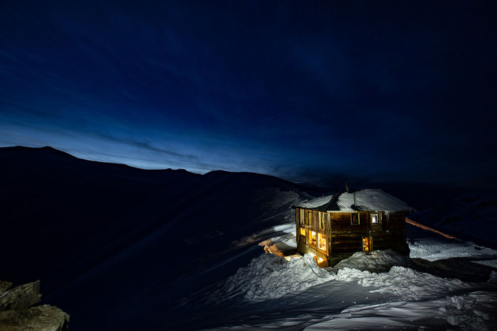 Unsere Alp-Hütte in Adjara, Feb. 2020. © whitehearts.de.