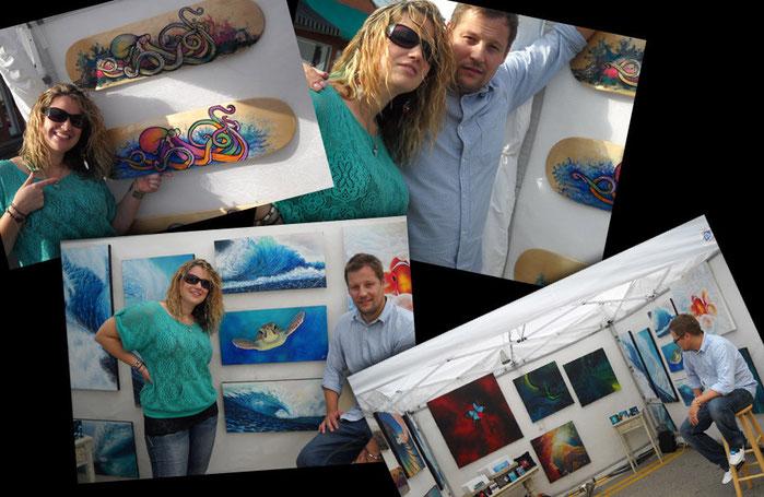 SaxonLynn Arts art festival mansfield tx