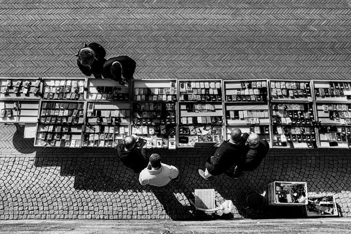 Kajenmarkt an der Bremer Schlachte, Fotograf Jürgen Deinert