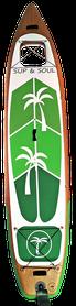 Familien Board mit Wasserfenster Windsurf SUP