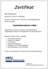Muster Zertifikat Handelsbetriebswirt