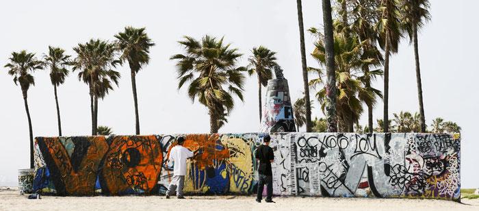Venice Beach 7, 2009, Color Print, 86 x 198 cm