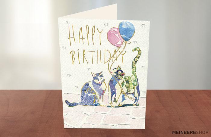 Turnowsky Katzen Happy Birthday
