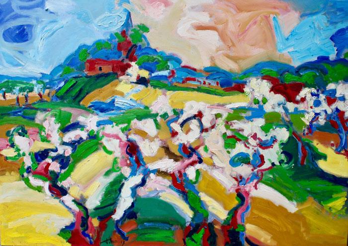 Oil on canvas, 100x120 cm