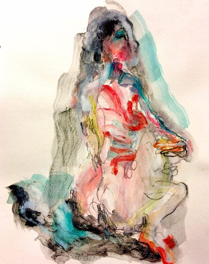 Van de serie: The Naked Truth - Werk op papier