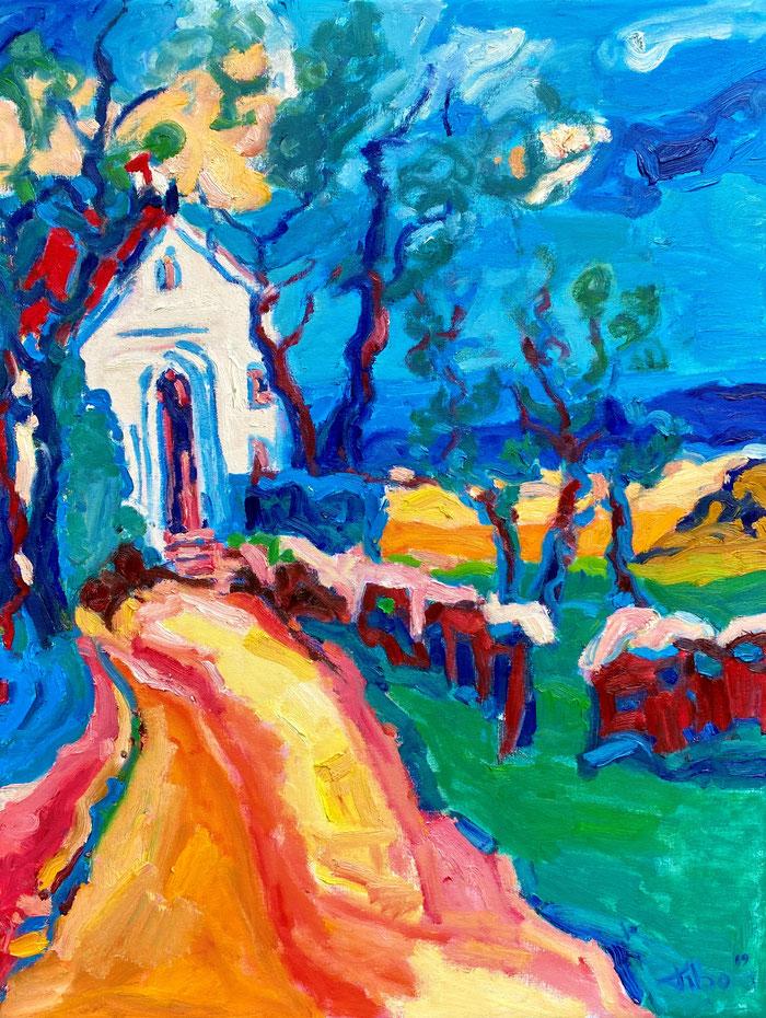 Oil on canvas, 65x85 cm