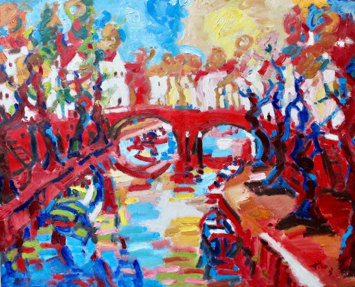 Oil on canvas, 80x100 cm