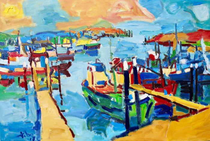 Oil on canvas, 60x90