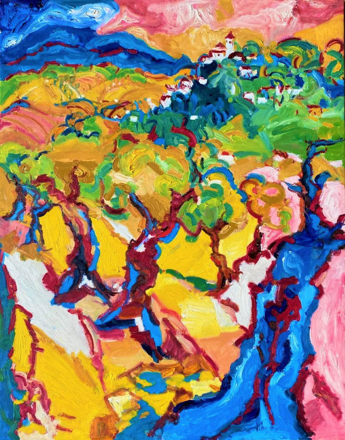 Oil on canvas, 140x110 cm