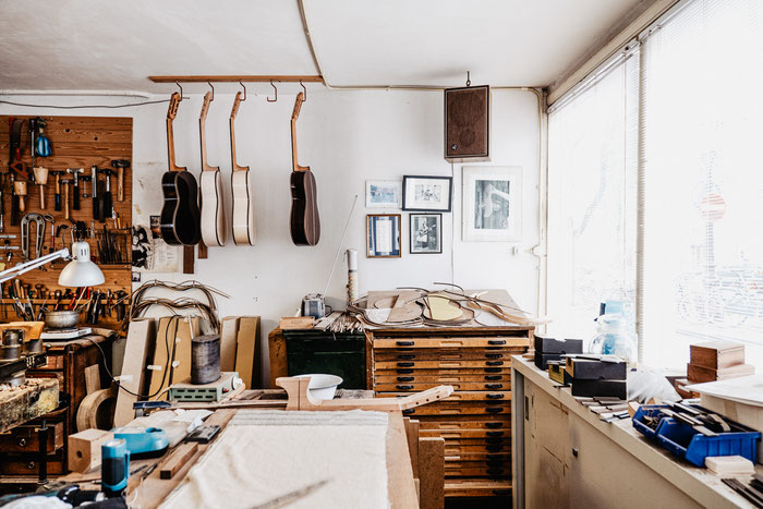 atelier, Otto Vowinkel