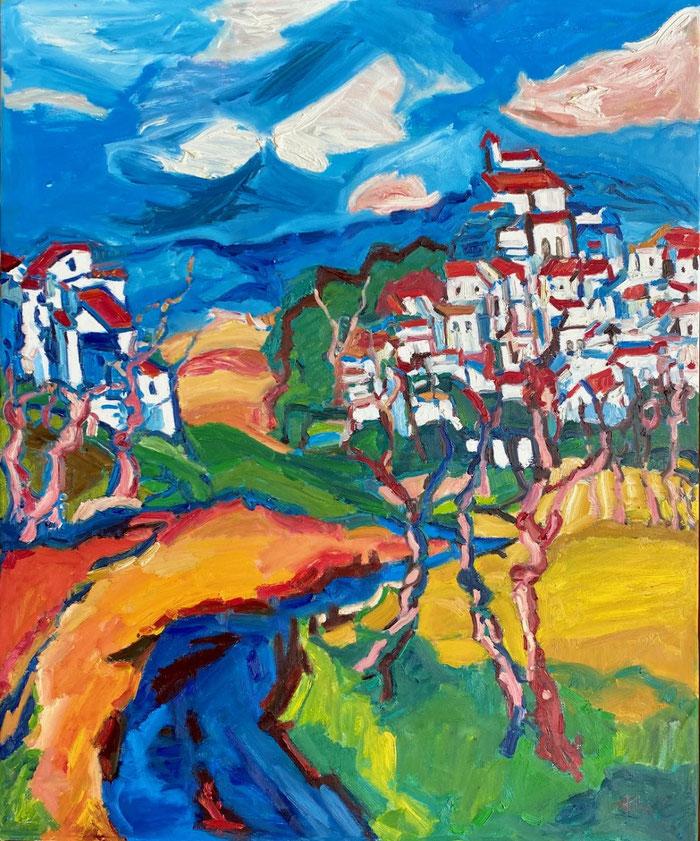 Oil on canvas, 140x115