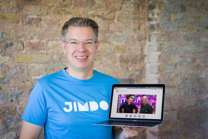 Frank Thelen's Jimdo website