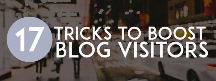 17 tricks to boost blog visitors - Jimdo