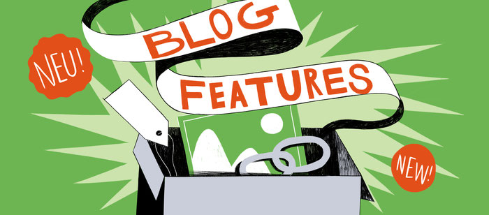 Nieuwe Blog Functies