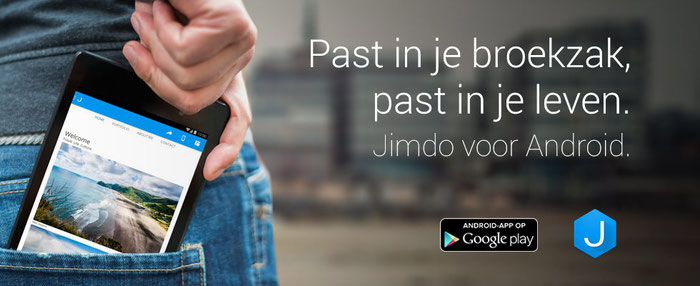 Jimdo website app Android