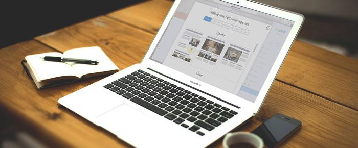 Kies een paginaopbouw