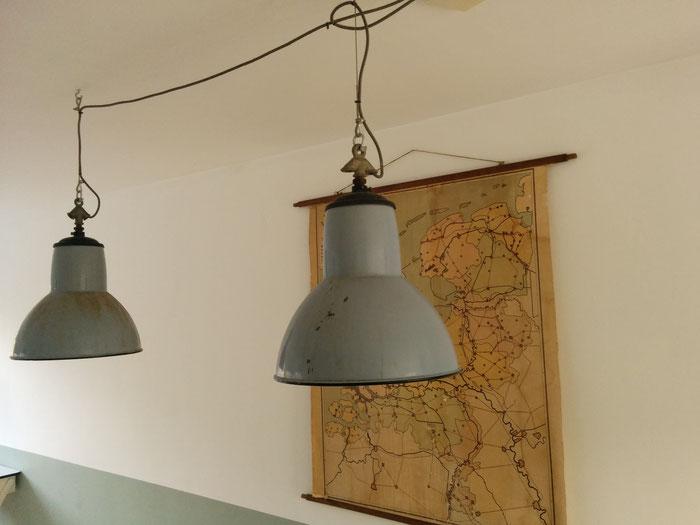 Oude lampen Studio Gespuis