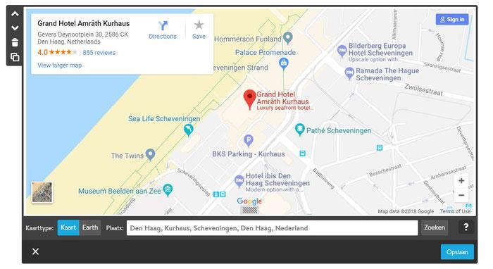 Voeg een kaart toe aan je trouwsite met Google Maps