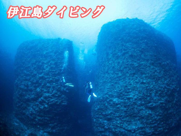 伊江島ダイビング(3ダイブ)