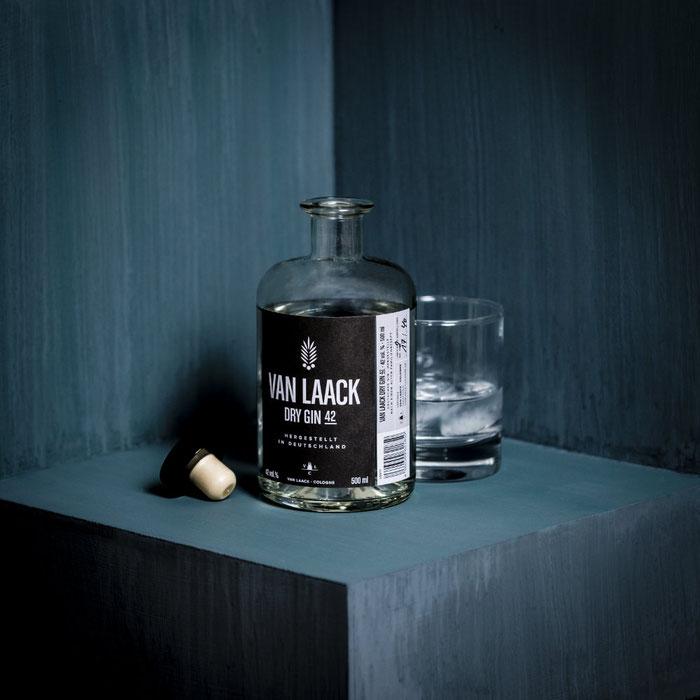 Van Laack Dry Gin 42 Cologne, Produktfotografie, Bonn