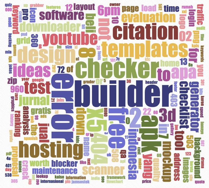 Das Tool Ubersuggest liefert euch mit nur einer Eingabe eine Fülle von häufigen verbundenen Suchanfragen.