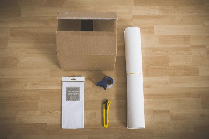 Dieses Material braucht ihr für eure eigene DIY-Lightbox.