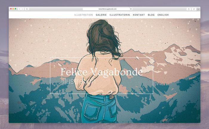"""Ich nutze das Jimdo-Design """"Rome"""" als Grundgerüst, habe es jedoch mit CSS personalisiert."""