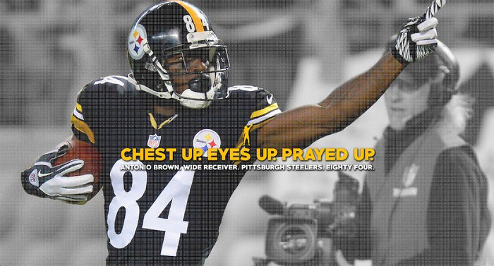 user page antonio brown