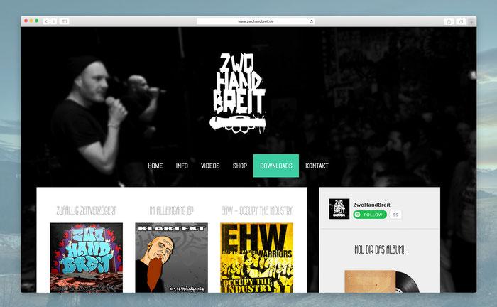 """Die dunkle Gestaltung des Designs """"San Francisco"""" passt perfekt zum rauen Oldschool-Sound der Hip Hop Crew!"""