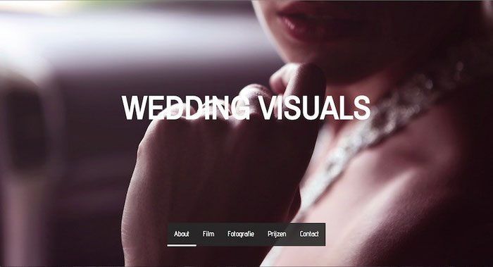user page wedding visuals