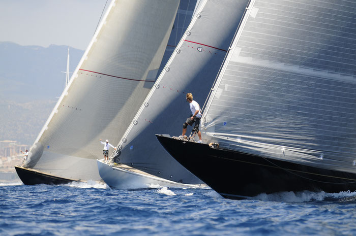 regatta action J-class