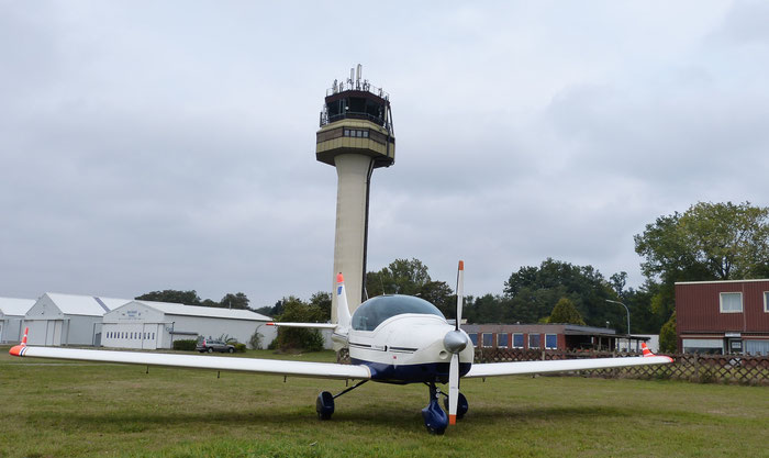 Unser Flugzeug Air Smaragd