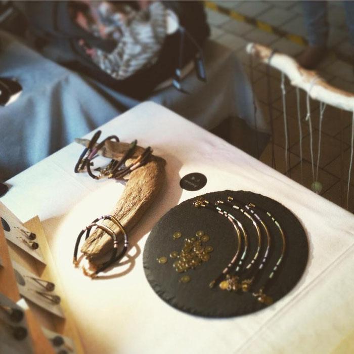 Armbänder Belle Accessoires beim Designmarkt Linz
