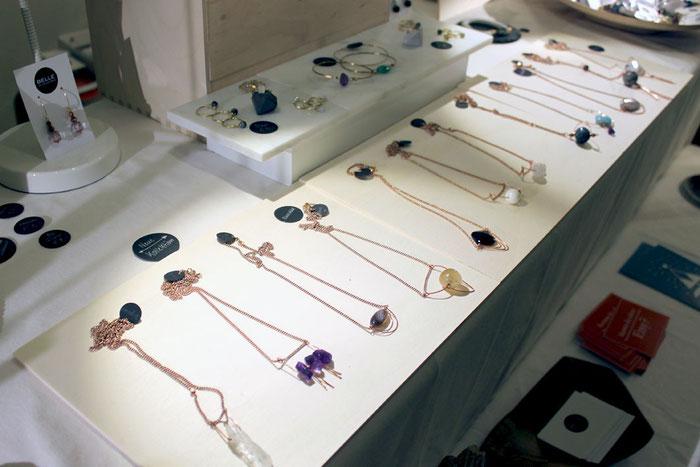 Messestand, Standaufbau, Präsentation Belle Accessoires beim Designmarkt Salzburg 2014