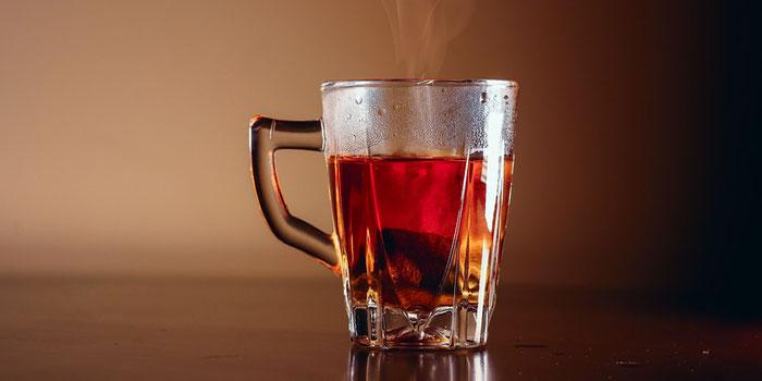 Echinacea tea for travelers