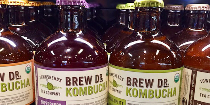 townshend's tea company brew dr. kombucha portland foodie products