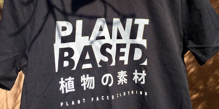 plant based with plant faced