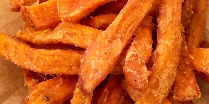 sweet potato fries green burger copenhagen