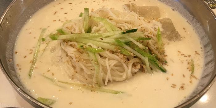 Cold Soy Milk Noodle Soup