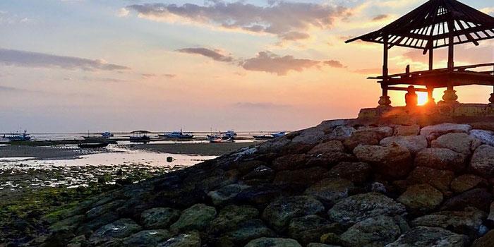 sunrise sanur beach bali