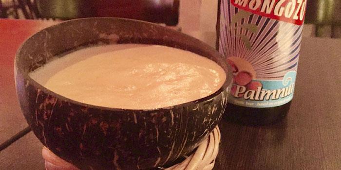 beer in coconut