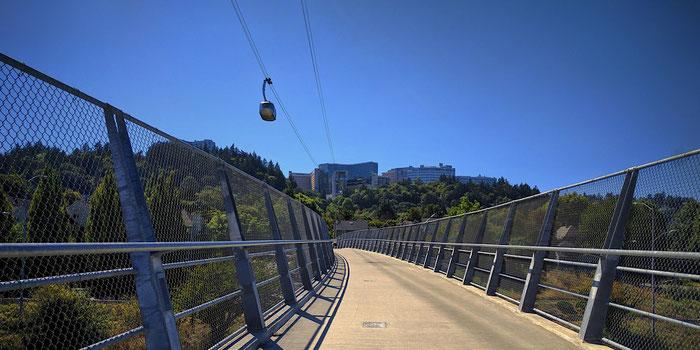 Aerial tram Portland