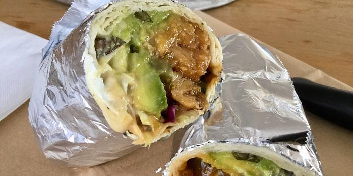 Vegan teriyaki burrito hideout burrito