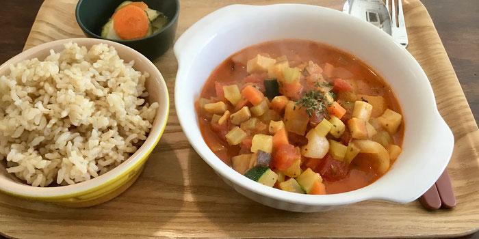 Cafe Sun Vegan Kitchen in Seoul, Korea