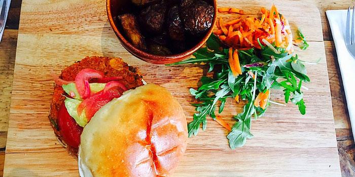 vegan burger the happy pear ireland