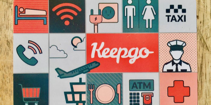 keepgo global sim card travel pictogram sim card holder